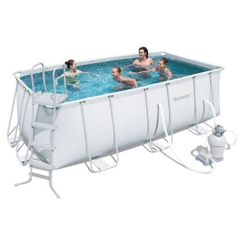 Piscina bestway ultra frame 400x201x100h cm - Filtro sabbia piscina bestway ...